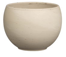 Load image into Gallery viewer, Ceramo White Marbled Granite Luna Sphere Pot