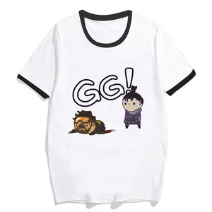 Anime Style 'GG' Apex Legends T-Shirt - Apex Legends Store