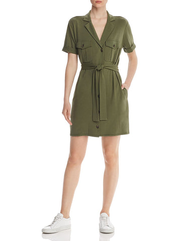 Jadallah Shirt Dress in Canopy