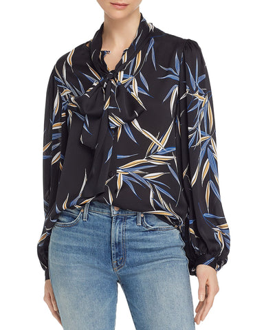 Cleone Printed Shirt in True Black Multi