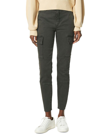 The Charlie Skinny Cargo Jeans in Charcoal Gray