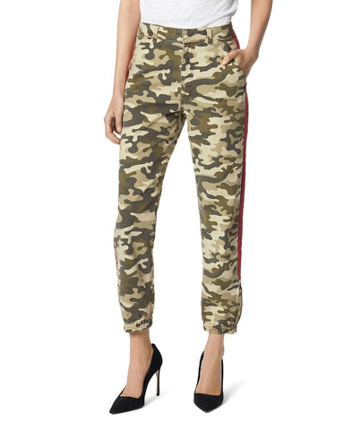 Side-Stripe Camo Pants in Camo