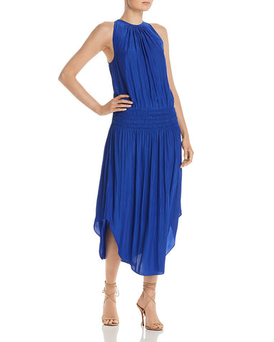 Audrey Midi Dress in Cobalt