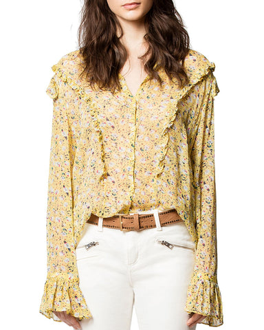Tweet Anemone Blouse in Bouton D'Or