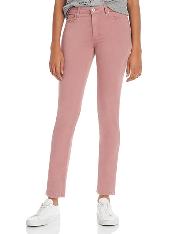 Prima Brushed Color Wash Jeans in Autumn Rose