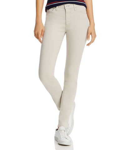 Prima Brushed Color Wash Jeans in Pale Smoke