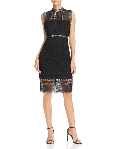 Mariana Lace Dress in Black