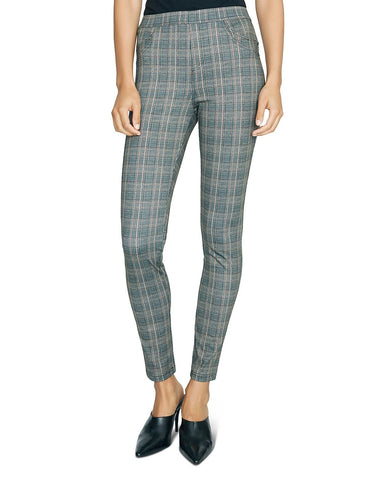Plaid Cropped Pants in Dover Plaid