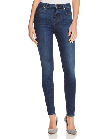 Maria High-Rise Skinny Jeans in Fleeting