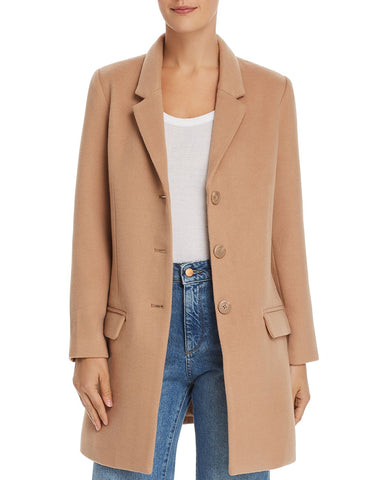 Whiskey Business Twill Coat in Camel