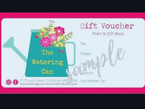 The Watering Can Gift Voucher - £5
