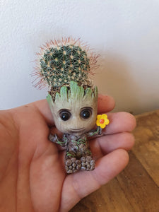Super mini baby groot with cactus