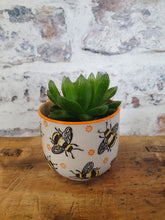 Load image into Gallery viewer, Sass and Belle Busy Bee Mini Planter Plant Pot