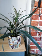 Load image into Gallery viewer, Toucan and pineapple 15cm large indoor plant pot