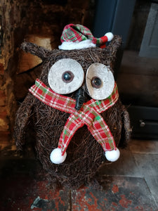 Olly The Christmas Owl decoration *COLLECTION ONLY*