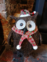 Load image into Gallery viewer, Olly The Christmas Owl decoration *COLLECTION ONLY*