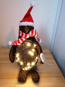 Light Up Christmas Penguin Decoration