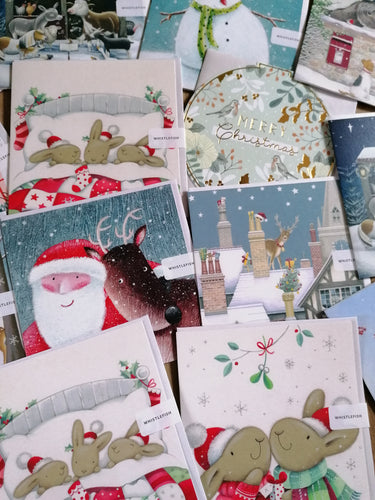 Luxury Christmas Cards by Whistlefish