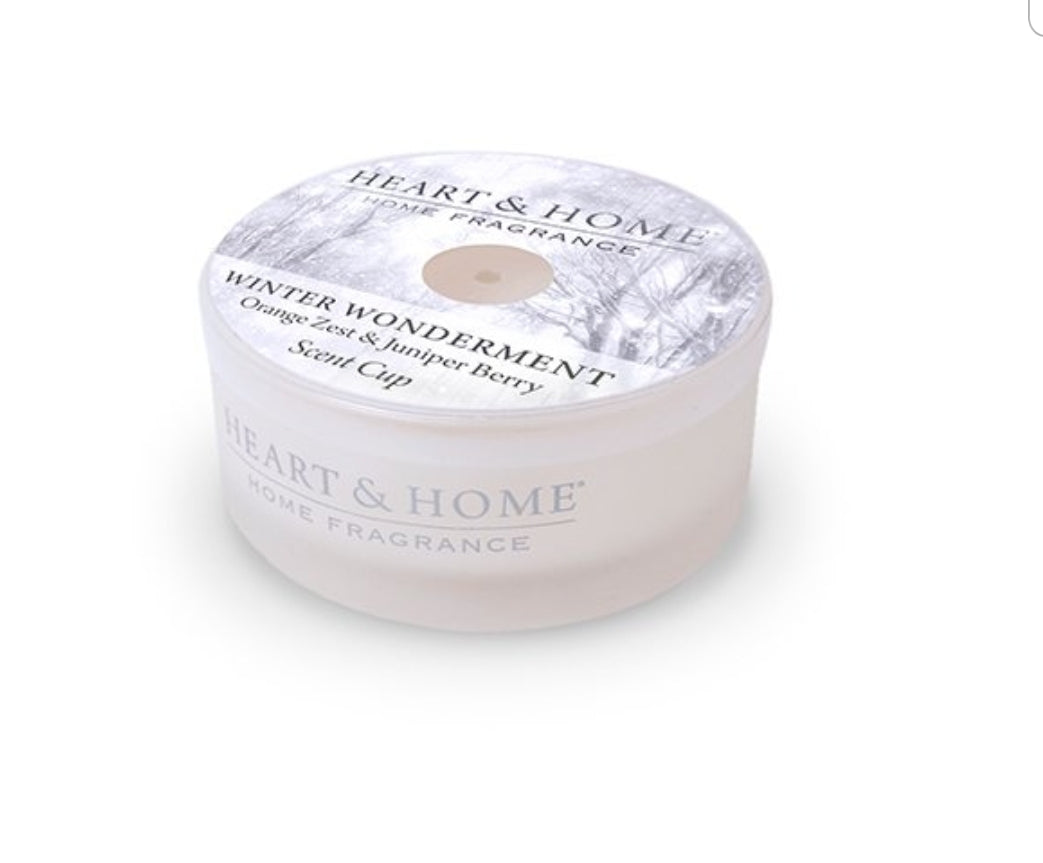 Heart and Home Scent Cup Candle - Winter Wonderment