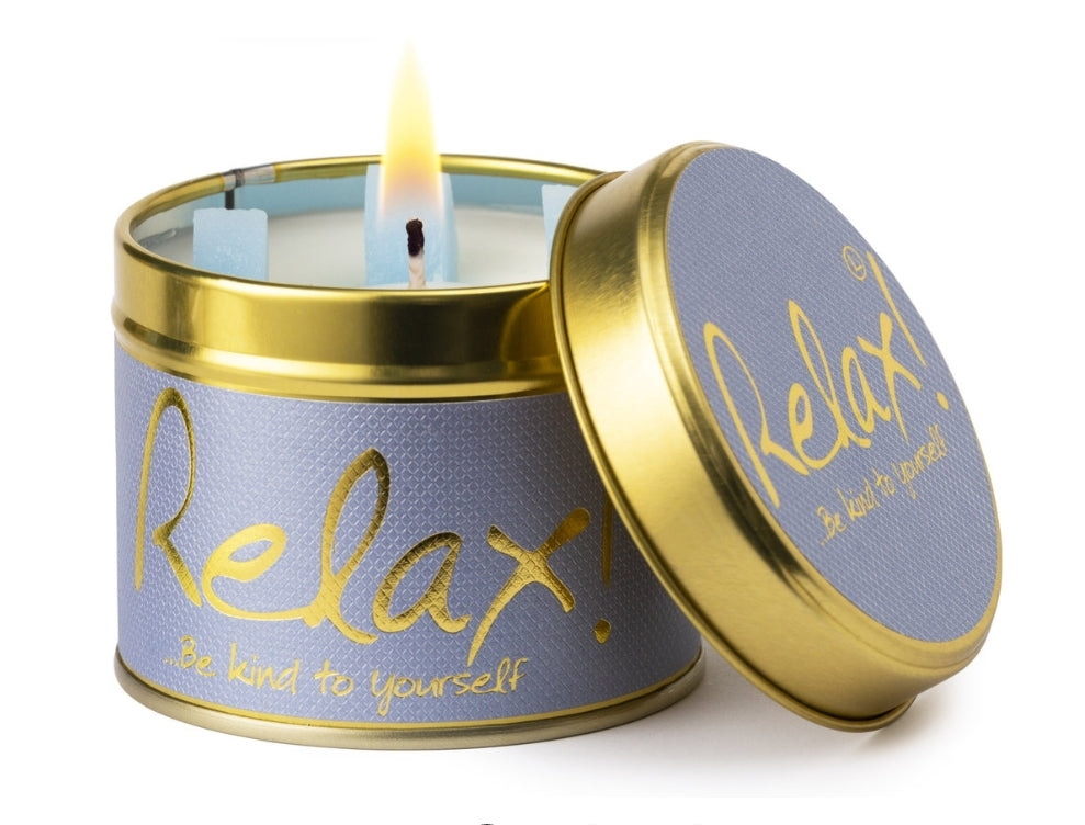 Lily-Flame Candle - Relax
