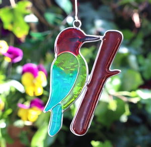 Woodpecker Bird Suncatcher