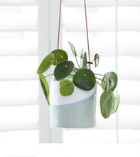 Load image into Gallery viewer, Burgon and Ball Blue Dip Hanging indoor planter/pot