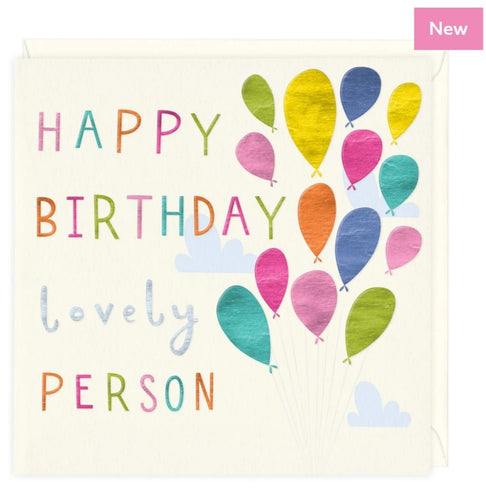 Lovely Person - Birthday card