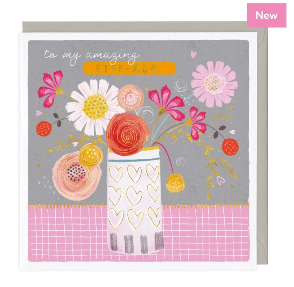 Amazing Step Mum card