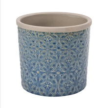 Load image into Gallery viewer, Burgon and Ball Porto dark blue indoor pot - Small