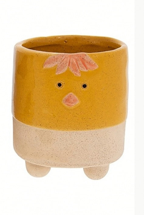 Pot Pals Chick mini indoor plant pot