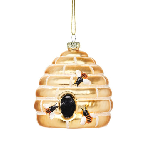 Sass and Belle Beehive shaped bauble