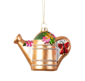 Sass and Belle Watering Can Shaped Bauble
