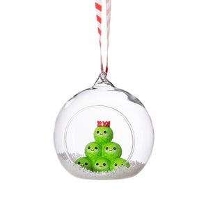 Sass and Belle Brussel Sprouts bauble
