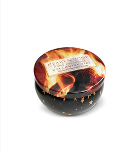 Heart and Home - Welcoming Fire Candle in a tin