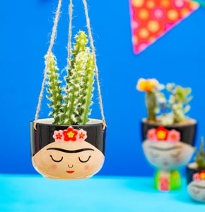 Sass and Belle Frida Hanging Planter/Indoor plant pot