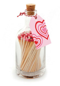 Posh matches - Concentric love heart