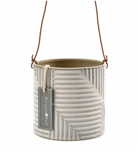 Burgon and Ball Modena indoor hanging planter/plant pot