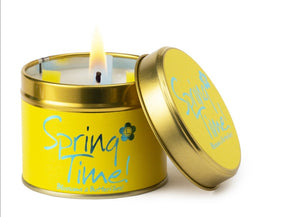 Lily-Flame Candle - Spring time