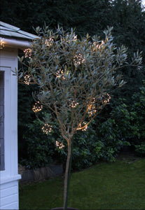 Lightstyle London solar starburst chain outdoor lights