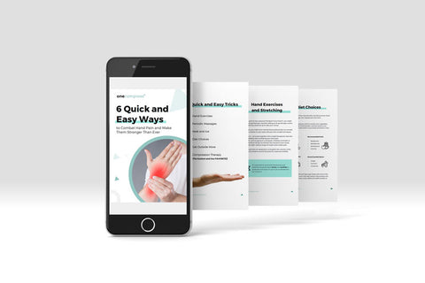Onecompress - 6 quick and easy ways to combat hand pain and make them stronger than ever ebook
