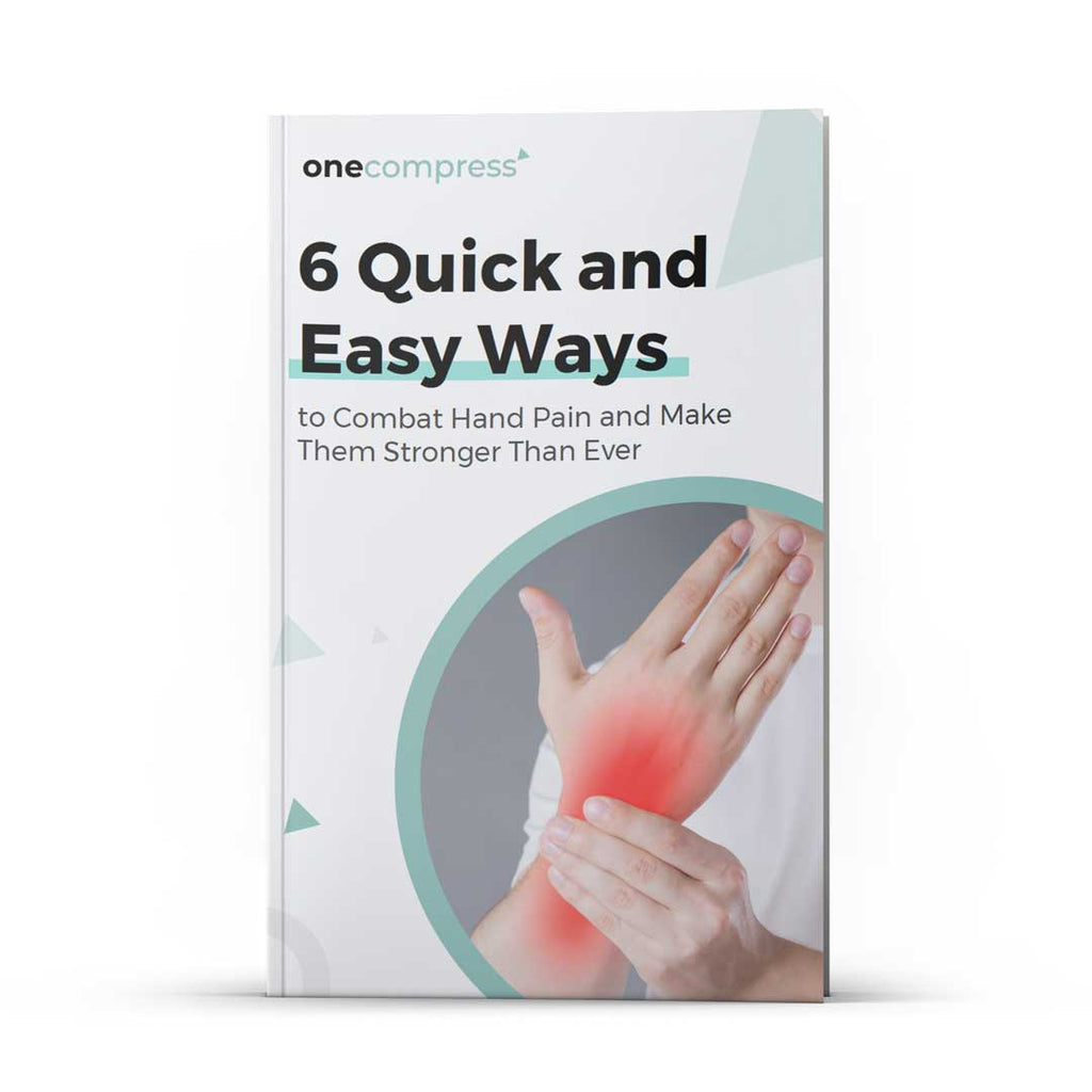 6 Quick And Easy Ways to Combat Hand Pain Ebook - (Instant Download)