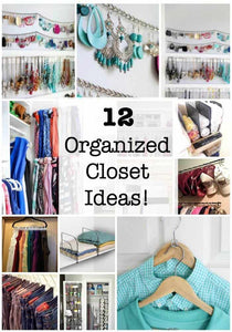 12 Organized Closet Ideas!