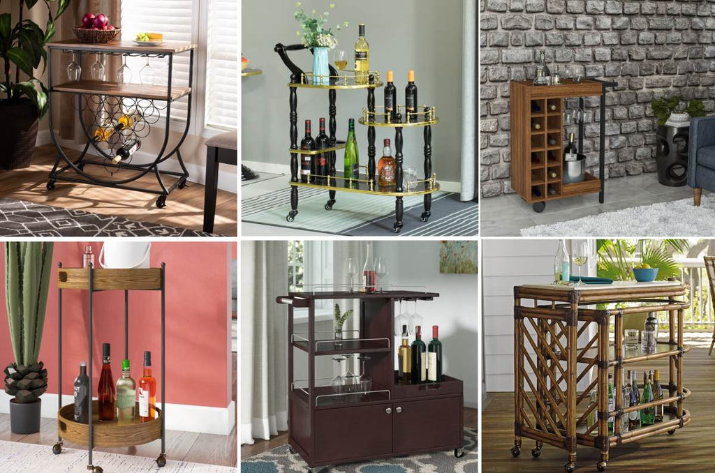 So you're in the market for a new wood bar cart, but there are so many gorgeous designs out there; how do you choose one? This helpful guide will do all the hard work for you, analyzing the best of this year's wood bar carts and detailing the pros...