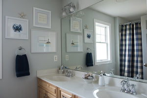 boys' bathroom refresh