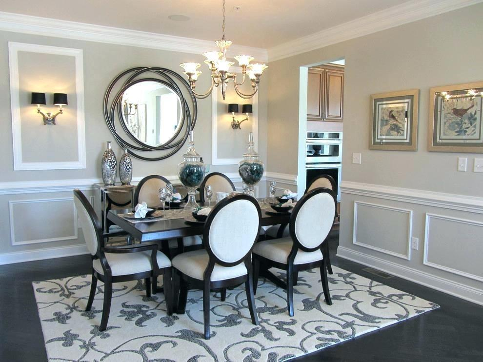 Fair Large Dining Room Mirror