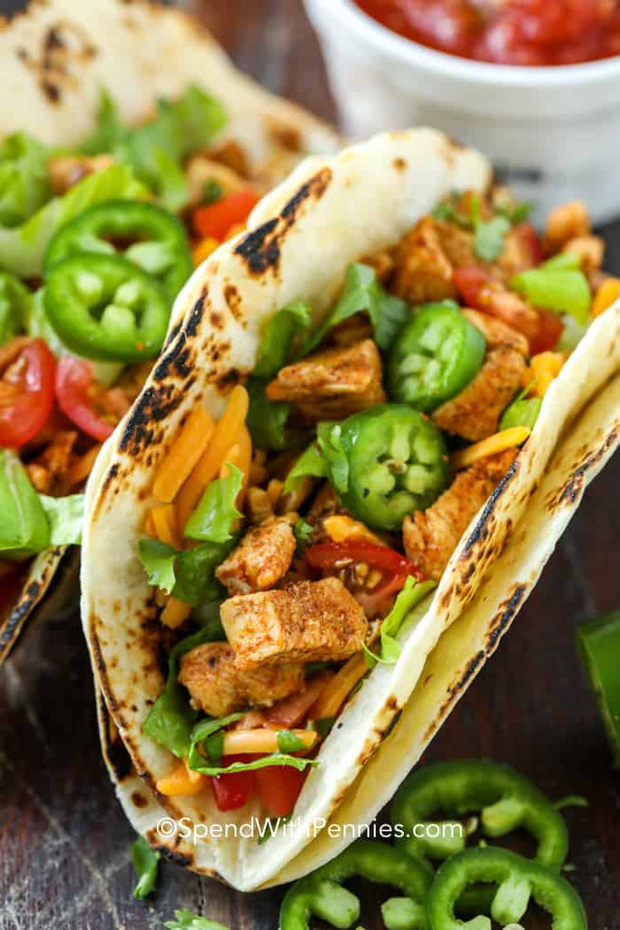 Chicken Tacos (Quick Weeknight Meal)