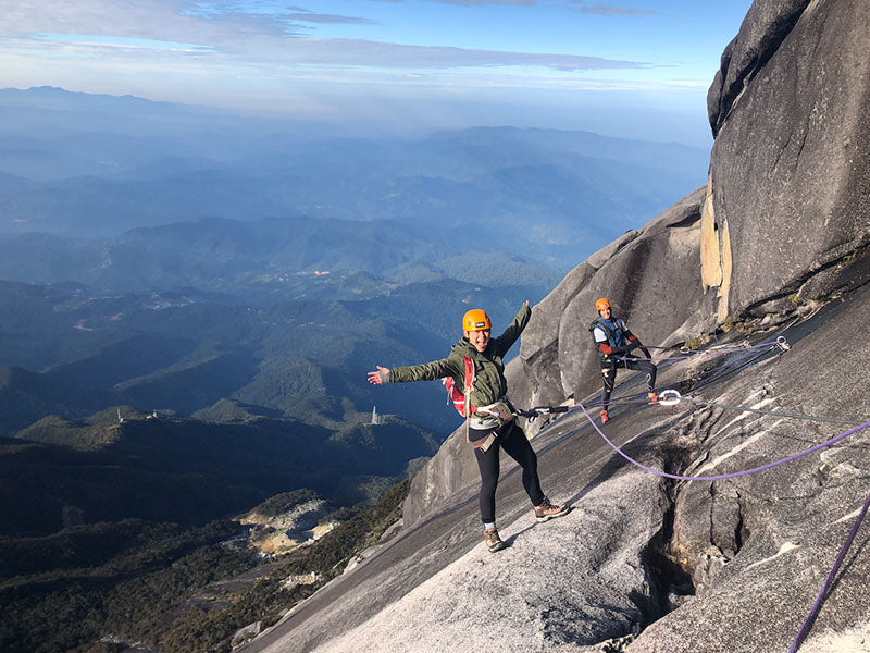 Adrenaline junkie LEANDA RATHMELL recommends Sabah's famous summit, Mount Kinabalu, to kickstart the crave to climb.