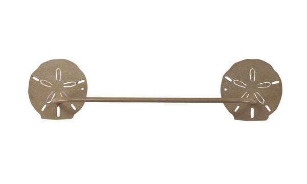 Sand Dollar Towel Bar - Sand
