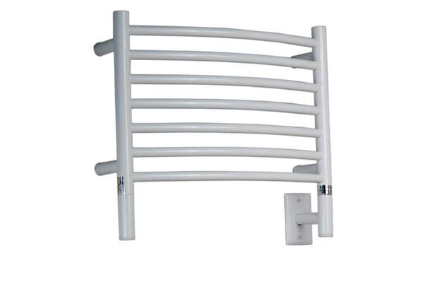 Amba Jeeves H Curved Towel Warmer - HCW White