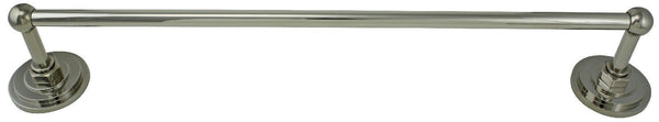 "Jado Savina Platinum Nickel 18"" Towel Bar 045460.150"